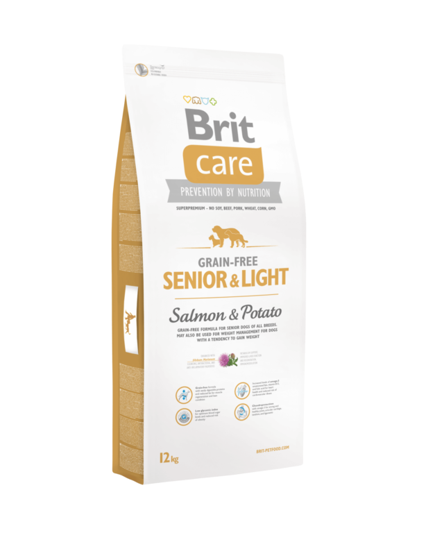 Brit Care Grain-free Senior & Light Salmon & Potato