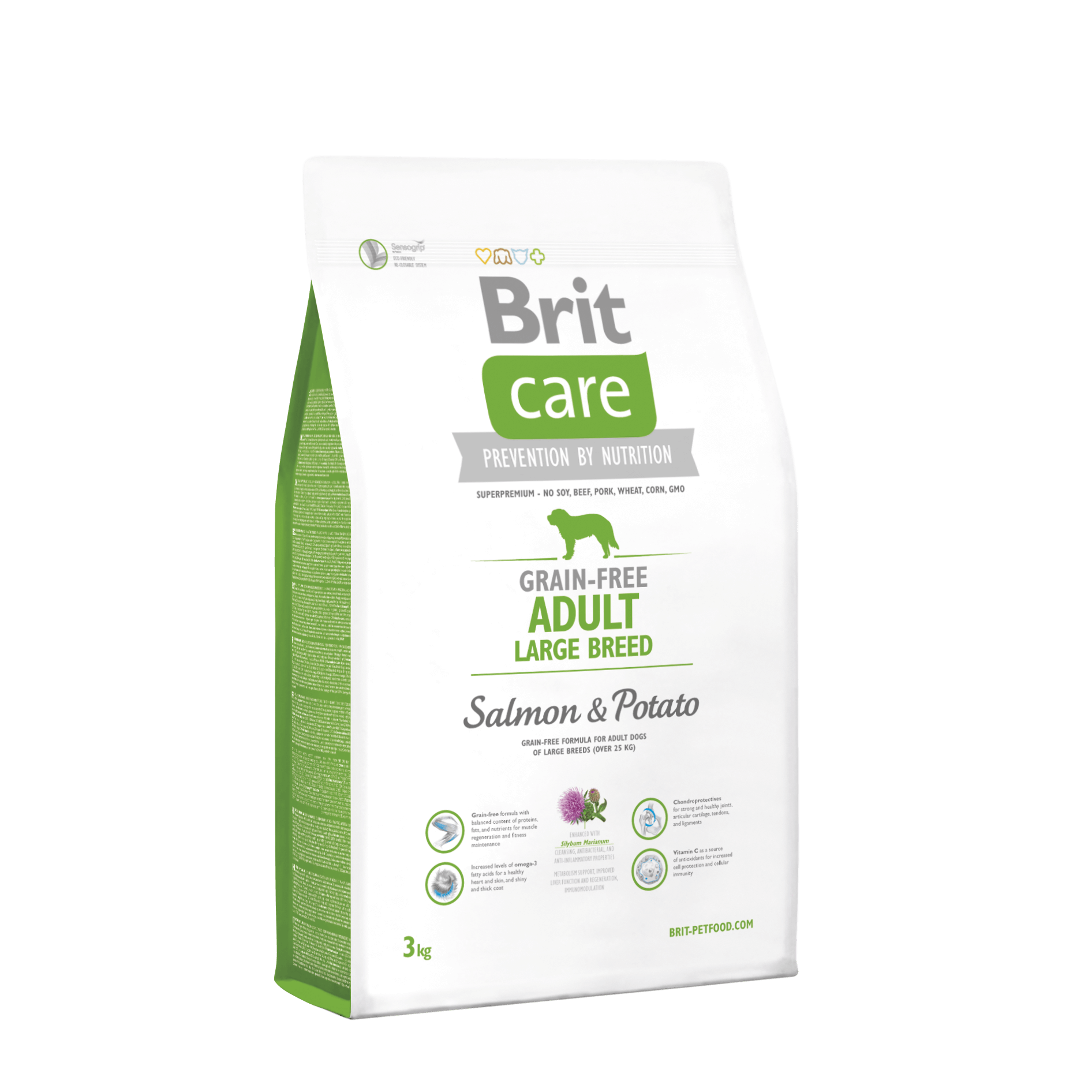 Brit Care Grain-freeAdult Large Breed Salmon & Potato
